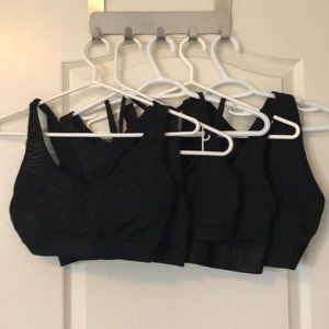 Lot of 5 F21 Sports Bras